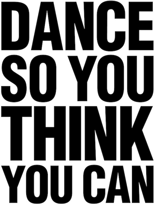 Dance So You Think You Can
